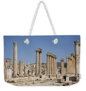 The Oval Plaza In The Ruins Weekender Tote Bag