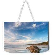 Welsh Coast - Porth Colmon Weekender Tote Bag