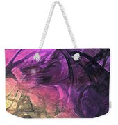 When The Night Comes Weekender Tote Bag by Linda Sannuti
