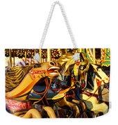 Wild Carrousel Horses  Weekender Tote Bag
