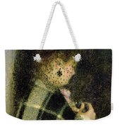 Young Woman With A Small Veil Weekender Tote Bag