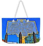 0001 Buffalo Ny History Weekender Tote Bag