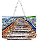 0002 Train Tracks Weekender Tote Bag