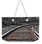 0003 Train Tracks Weekender Tote Bag