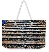 0004 Train Tracks  Weekender Tote Bag