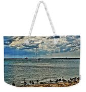001 On A Summers Day  Erie Basin Marina Summer Series Weekender Tote Bag