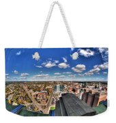 0017 Autumn Days Of Buffalo Ny Birds Eye Weekender Tote Bag