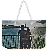 0017 The Lion And Lioness As One Weekender Tote Bag