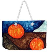 Still Life With Apples I Weekender Tote Bag