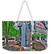 002 Fountain Plaza Weekender Tote Bag