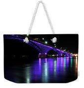 002 Peace Bridge Honoring Breast Cancer 2012 Series Weekender Tote Bag