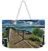 002 Peace Bridge Series II Beautiful Skies Weekender Tote Bag