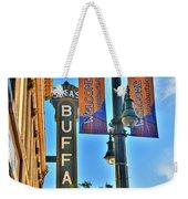 002 Sheas Buffalo Weekender Tote Bag