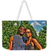 002 The Lion And Lioness Weekender Tote Bag