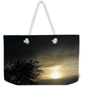 002 When Feeling Down  Pick Your Head Up To The Skies Series Weekender Tote Bag