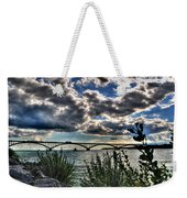003 Peace Bridge Series II Beautiful Skies Weekender Tote Bag