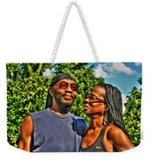 003 The Lion And Lioness Weekender Tote Bag
