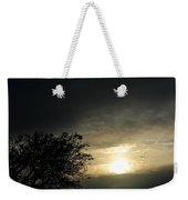 003 When Feeling Down  Pick Your Head Up To The Skies Series Weekender Tote Bag
