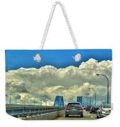 004 Grand Island Bridge Series  Weekender Tote Bag