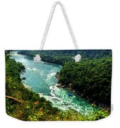 004 Niagara Gorge Trail Series  Weekender Tote Bag