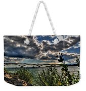 004 Peace Bridge Series II Beautiful Skies Weekender Tote Bag