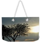 004 When Feeling Down  Pick Your Head Up To The Skies Series Weekender Tote Bag