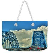005 Grand Island Bridge Series  Weekender Tote Bag