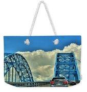 005 Grand Island Bridge Series  Weekender Tote Bag