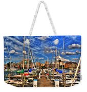 005 On A Summers Day  Erie Basin Marina Summer Series Weekender Tote Bag