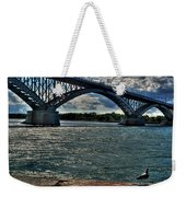 005 Peace Bridge Series II Beautiful Skies Weekender Tote Bag