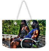 005 The Lion And Lioness Weekender Tote Bag