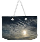 005 When Feeling Down  Pick Your Head Up To The Skies Series Weekender Tote Bag