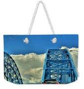 006 Grand Island Bridge Series Weekender Tote Bag
