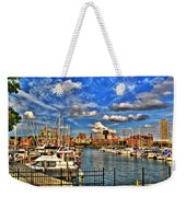 006 On A Summers Day  Erie Basin Marina Summer Series Weekender Tote Bag
