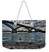 006 Peace Bridge Series II Beautiful Skies Weekender Tote Bag