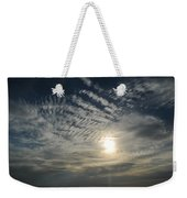 006 When Feeling Down  Pick Your Head Up To The Skies Series Weekender Tote Bag