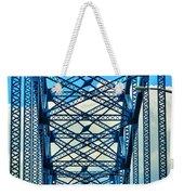 007 Grand Island Bridge Series  Weekender Tote Bag