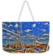 007 On A Summers Day  Erie Basin Marina Summer Series Weekender Tote Bag