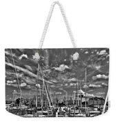 007bw On A Summers Day  Erie Basin Marina Summer Series Weekender Tote Bag