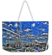 007sc On A Summers Day  Erie Basin Marina Summer Series Weekender Tote Bag