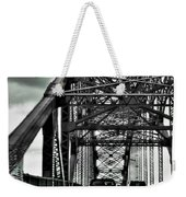 008 Grand Island Bridge Series Weekender Tote Bag