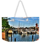 008 On A Summers Day  Erie Basin Marina Summer Series Weekender Tote Bag