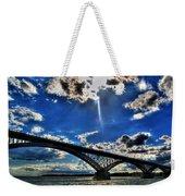 008 Peace Bridge Series II Beautiful Skies Weekender Tote Bag