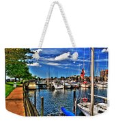 009 On A Summers Day  Erie Basin Marina Summer Series Weekender Tote Bag