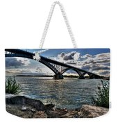 009  Peace Bridge Series II Beautiful Skies Weekender Tote Bag