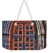 01 Church Doors Weekender Tote Bag
