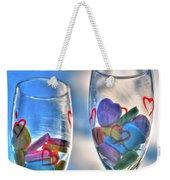 01 Love Is In The Air Weekender Tote Bag