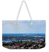01 Toy Peace Bridge Weekender Tote Bag
