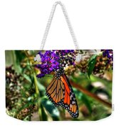 011 Making Things New Via The Butterfly Series Weekender Tote Bag