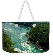 011 Niagara Gorge Trail Series  Weekender Tote Bag